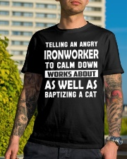 Ironworker as well Classic T-Shirt lifestyle-mens-crewneck-front-8