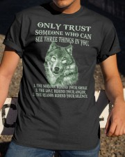 Only Trust  Classic T-Shirt apparel-classic-tshirt-lifestyle-28
