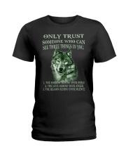 Only Trust  Ladies T-Shirt thumbnail