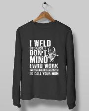 I Weld Crewneck Sweatshirt lifestyle-unisex-sweatshirt-front-10