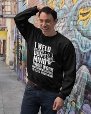 I Weld Crewneck Sweatshirt lifestyle-unisex-sweatshirt-front-4