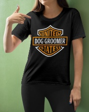 Dog Groomer TEE Ladies T-Shirt apparel-ladies-t-shirt-lifestyle-front-10
