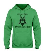 Owl Tee Hooded Sweatshirt thumbnail