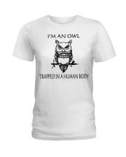 Owl Tee Ladies T-Shirt front