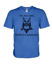 Owl Tee V-Neck T-Shirt thumbnail