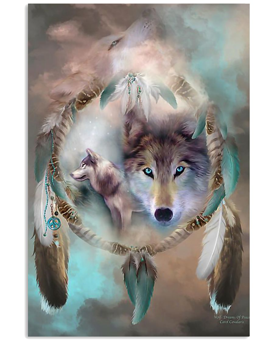 Awesome Wolf Poster 11x17 Poster
