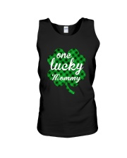 One lucky mommy Unisex Tank thumbnail