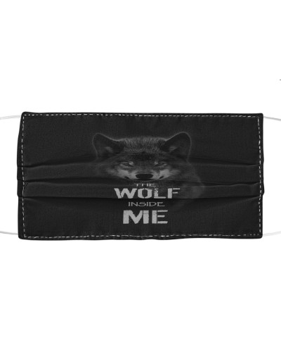 The Wolf Inside Me Cloth Mask