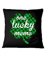 One lucky meme Square Pillowcase thumbnail