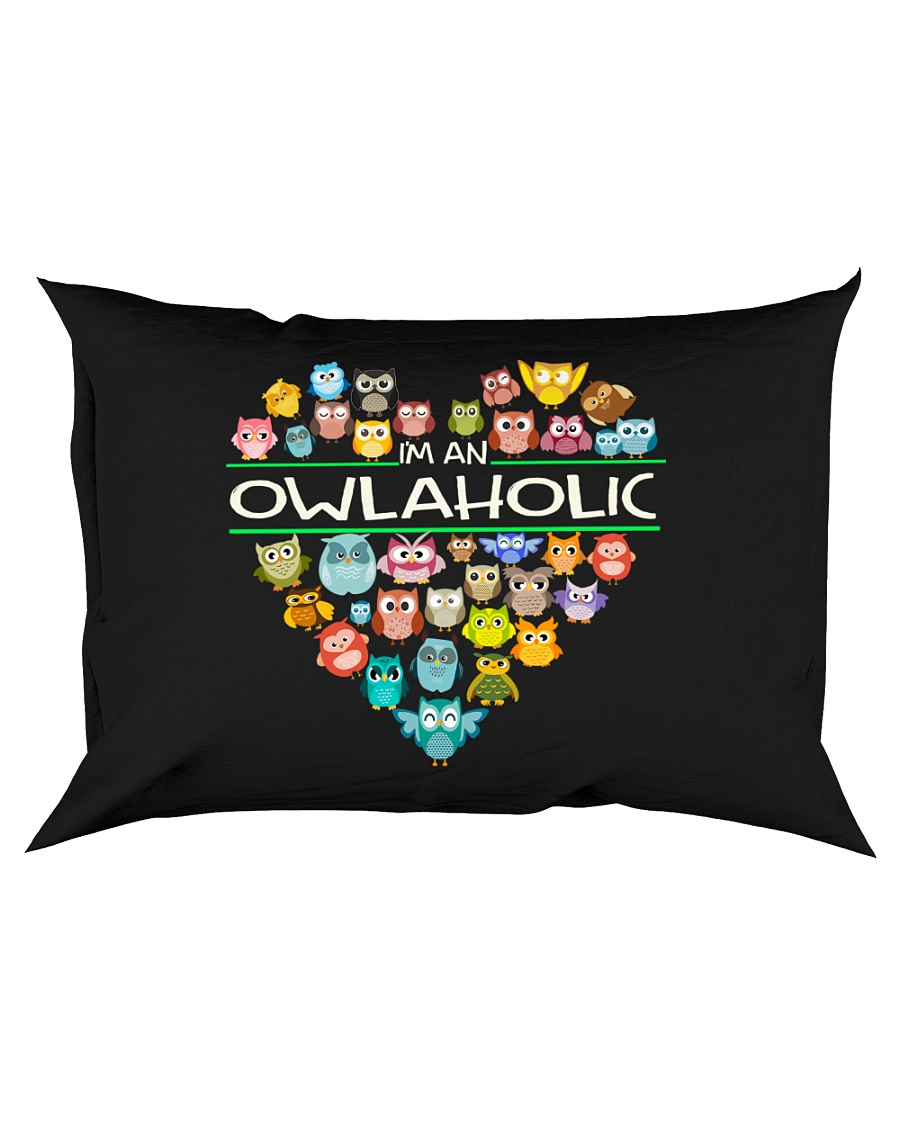 Owlaholic Rectangular Pillowcase