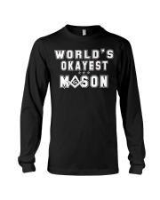 Worlds Okayest G Long Sleeve Tee tile