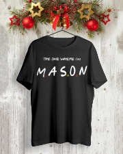 Where I'm  Premium Fit Mens Tee lifestyle-holiday-crewneck-front-2