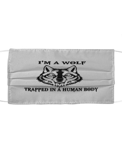 Love Wolf Cloth Mask