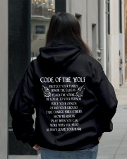The Wolf tee Hooded Sweatshirt lifestyle-unisex-hoodie-back-2