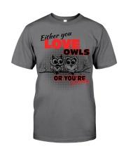 Love Owl Premium Fit Mens Tee thumbnail