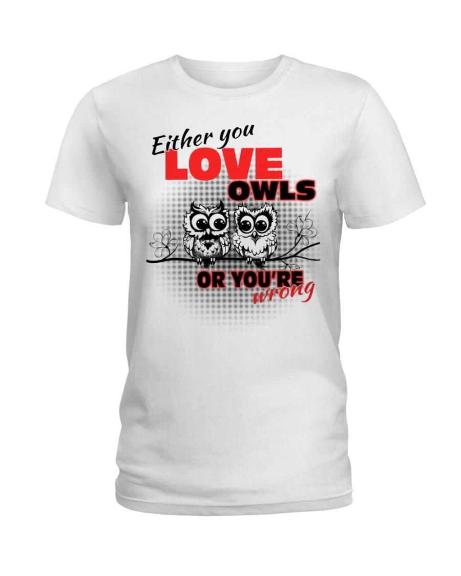Love Owl Ladies T-Shirt