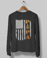 Papa G Tee Crewneck Sweatshirt lifestyle-unisex-sweatshirt-front-10