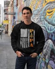 Papa G Tee Crewneck Sweatshirt lifestyle-unisex-sweatshirt-front-2