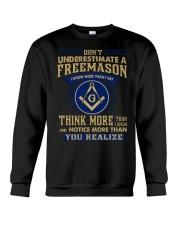 You Realize Crewneck Sweatshirt front