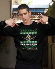 XMAS TEE Crewneck Sweatshirt apparel-crewneck-sweatshirt-lifestyle-04