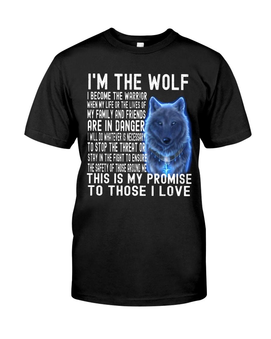 I'M THE Wolf Tshirt Classic T-Shirt