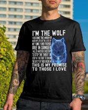 I'M THE Wolf Tshirt Classic T-Shirt lifestyle-mens-crewneck-front-8
