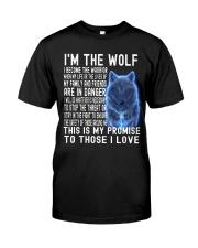 I'M THE Wolf Tshirt Premium Fit Mens Tee thumbnail
