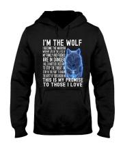 I'M THE Wolf Tshirt Hooded Sweatshirt thumbnail