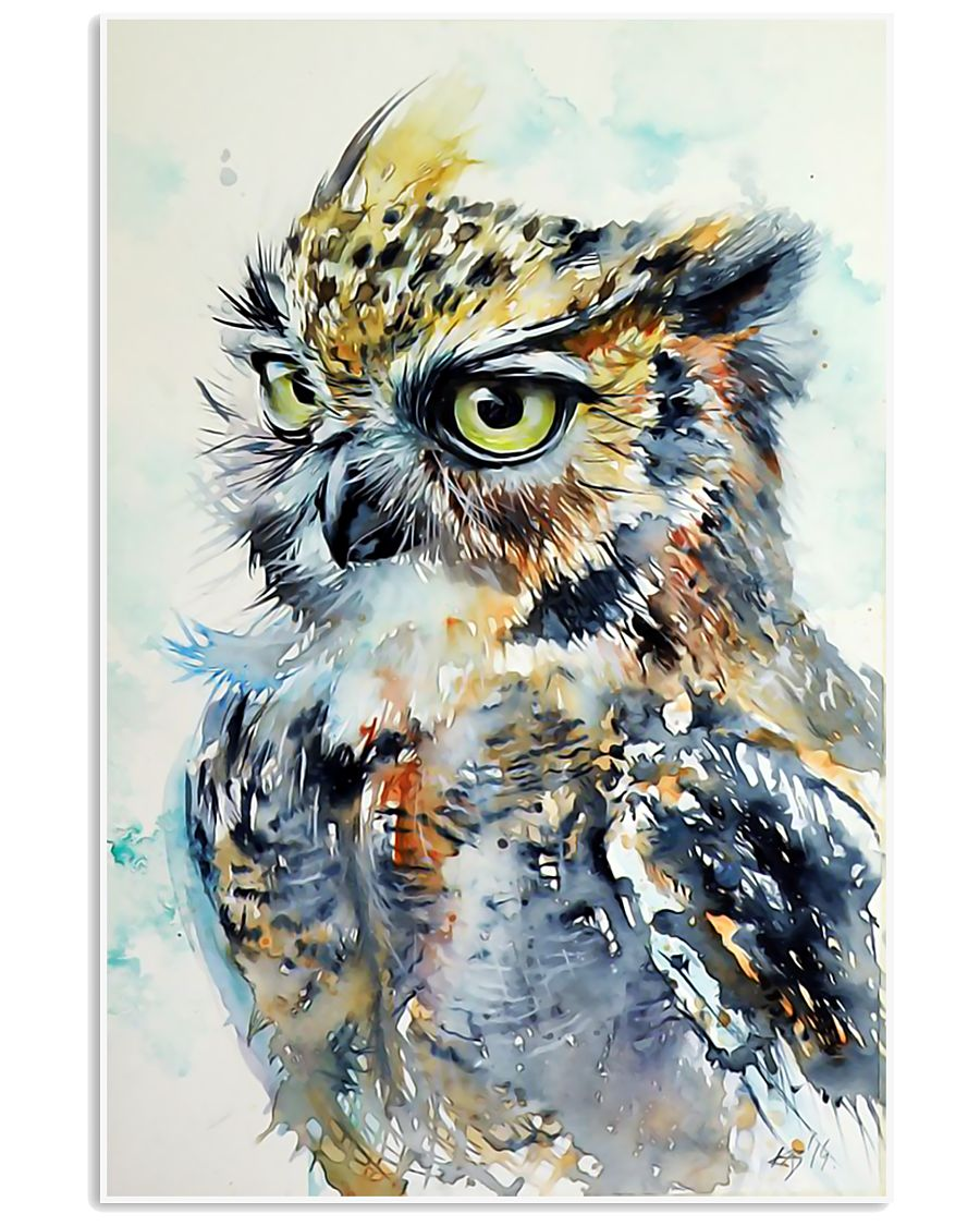 Owl Poster  24x36 Poster