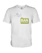 Ban Acetaminophen V-Neck T-Shirt thumbnail