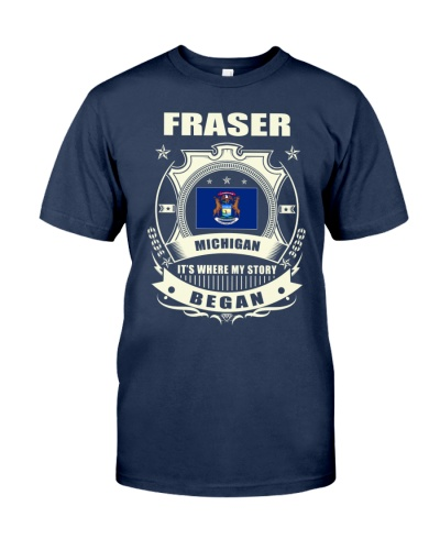 Fraser-MI proud awesome Shirt