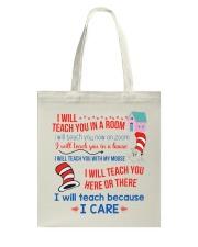 Lover Teachers Tote Bag thumbnail