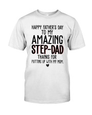 Happy Fathers Day Classic T-Shirt front