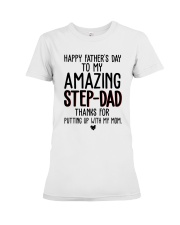 Happy Fathers Day Premium Fit Ladies Tee thumbnail
