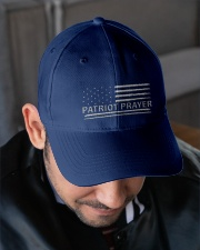 Patriot Prayer hat Embroidered Hat garment-embroidery-hat-lifestyle-02