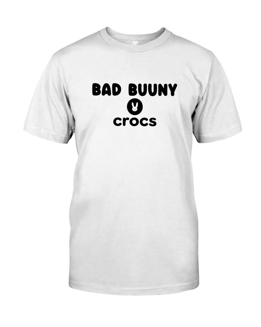 latino gang bad bunny crocs shirt