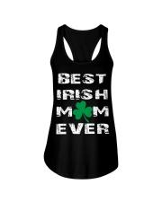 best irish mom ever Ladies Flowy Tank thumbnail