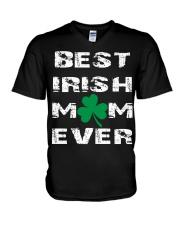 best irish mom ever V-Neck T-Shirt thumbnail