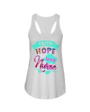 Love Nurse Shirt Ladies Flowy Tank thumbnail