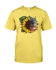 Sunflower America flag Premium Fit Mens Tee thumbnail