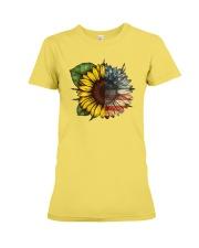 Sunflower America flag Premium Fit Ladies Tee thumbnail
