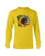 Sunflower America flag Long Sleeve Tee thumbnail