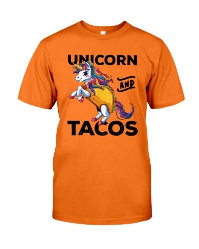 Unicorn and tacos