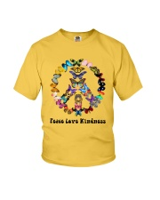 Peace love kindness Youth T-Shirt thumbnail
