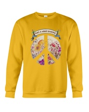 Peace is always beautiful Crewneck Sweatshirt thumbnail