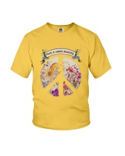 Peace is always beautiful Youth T-Shirt thumbnail