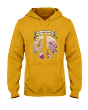 Peace is always beautiful Hooded Sweatshirt thumbnail