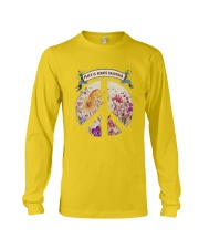 Peace is always beautiful Long Sleeve Tee thumbnail