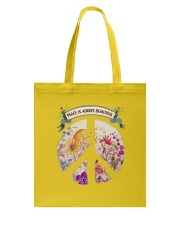 Peace is always beautiful Tote Bag thumbnail