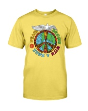 Peace begins with a smile Premium Fit Mens Tee thumbnail